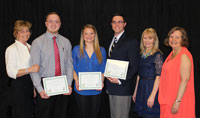 2014 Scholarship Recipients Honored