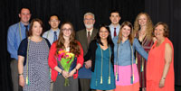 Student Organizations Honor 2014 Award Recipients
