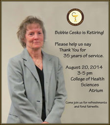 Bobbie Cesko Retirement Reception