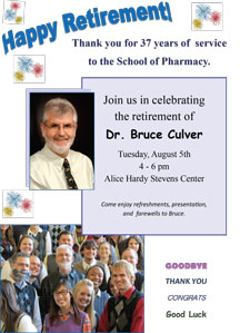 Bruce Culver Retirement Reception