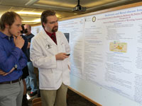First-Year Students Present Posters during CHS Research Day